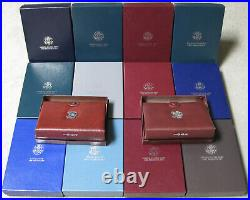 1983 1997 US Mint Prestige Proof Nice Complete Set of 14 With Boxes and COAs