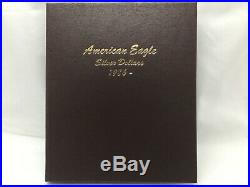 19862018 American Silver Eagle Complete Set In Dansco 33 Coins Uncirculated (b)