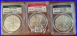 1986-2020 American Silver Eagle Collection COMPLETE SET! (inc 1995-W, 2019-S RP)