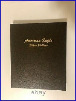 1986 2020 Silver Eagle Set Complete Dansco Album FREE SHIPPING