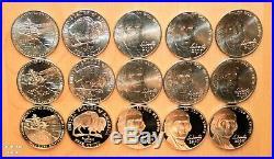1990 2020 COMPLETE PD & S Jefferson BU, Proof & Special Release 115 Nickel Set