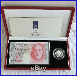 1994 £50 BANKNOTE + SILVER PROOF 50p SET complete