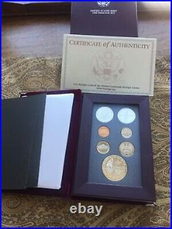 1996-S US Mint Prestige Proof Set Complete & Original - Rare Atlanta Olympics