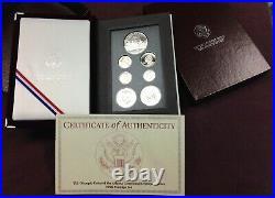 1996 US MINT PRESTIGE PROOF SET Complete with Original Box and COA