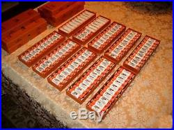 1999 2008 Delaware Hawaii State Wrapped Quarter Rolls Complete Set
