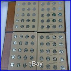 1999 2008 State quarter complete set P D S and SILVER PROOF PDSS 200 Coins