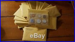 1 lot of 20 1964 United States Proof Sets. Opened but complete with envelopes