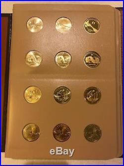 2000-2011 P D S Sacagawea Dollar Native American Complete Set Dansco Album Proof