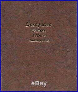 2000 2019 COMPLETE SACAGAWEA Native American DOLLAR SET BU/Proof DANSCO ALBUM