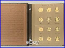 2000-2019 Complete Set 60 Sacagawea $1 P&d&s Bu Mint Coins In A Dansc0 Album