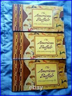 2001 D American Buffalo Coin And Currency Set Complete Last One