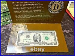 2003 $2 Star Note Complete 12 Note Set Unc-bep Folder-coa 16,000 Run Epc #2693