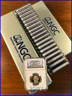2007-16 Complete Presidential $1 Coin Set 39 Proof Coins Ngc Pf 70 Ultra Cameo