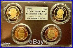 2007 2015 Complete Multi-Holder PCGS 69 Proof Presidential Dollar Set wBox
