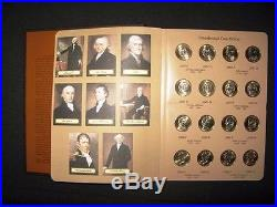 2007-2016 Complete Set 78 Presidential $1 P&d Bu Mint Coins In A Dansc0 Album