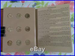 2007-2016 One Each Presidential Dollar Complete 39 BU Coin Set in Dansco Album