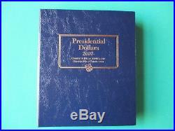 2007-2016 P, D, S Complete Presidential Dollar set (117) Coins /Bonus