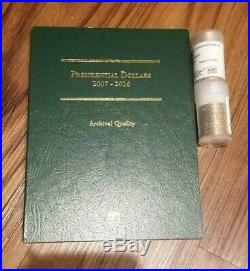2007 2016 Presidential Dollar Complete Proof Set Collection 39 Coins & Binder