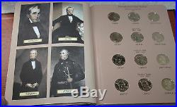 2007 2016 Presidential Dollar PDS Complete 117 Coin Set BU and Proof President