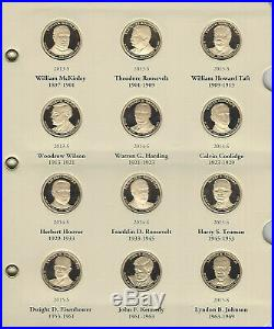 2007 to 2016 Presidential Dollar Complete Proof Collection 39 Pc Set in Album