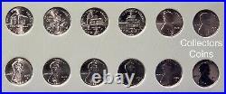 2009-2021 PDS+SW 63 Coin COMPLETE Lincoln Shield & Bicentennial Cent Set wDansco