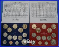 2010 2018 Complete Run of 9 Government Issued Mint Uncirculated Coin Sets
