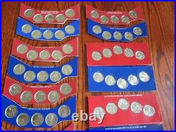2010-2020 P&d Cello Uncirculated Us Mint Complete America The Beautiful Set