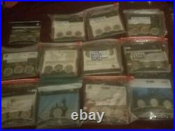 2010 2021 America The Beautiful 56 qty 3 Coin 168 coins Complete Run error set