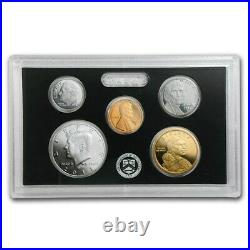 2011 US Mint Silver Proof 14 Coin Set Complete with Original Box with COA NICE