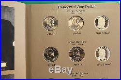 2012 thru 2016 Presidential Dollar PDS Complete 57 Coin Set BU & Proof President