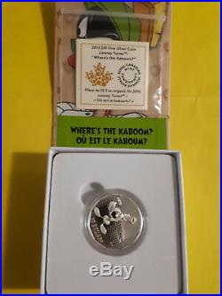 2015 Looney Tunes Complete set of 8 $10 Silver Coins all different