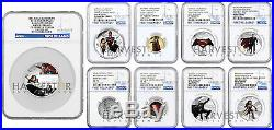 2016 Batman V Superman Dawn Of Justice Ngc Pf70 First Releases Complete Set