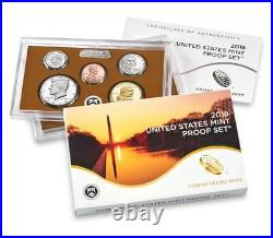 2018 Proof set 10 Coin Deep Cameo Clad Proof Set Complete