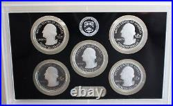2018 S ANNUAL Silver 10 Coin Proof Set US Mint Original Box and COA Complete