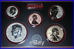 2018 S Silver Reverse Proof Set Complete Cent Thru Dollar Combined Shipping