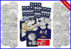 2019 Complete Certified Uncirculated A-Z 10p Set GREAT BRITISH COIN HUNT 2019