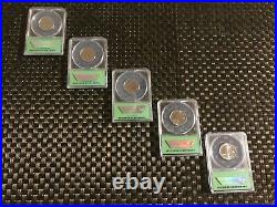 2019 Rare Early Discovery Complete W Quarter Set-all Mint State 67
