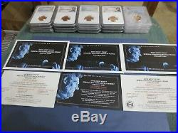 2019 W Complete West Point Lincoln Cent (3) Coin Set Ngc Pf70, Rpf70, Ms69, Fr