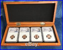 2019 W Lincoln Cent Complete 3 Coin set + 2019 S Lincoln Cent- NGC PF&MS 70 RD