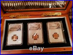 2019 W Lincoln Cent Complete 3 Coin set NGC PF/RP/MS 70 + 2 2019 S Lincoln Cent