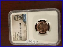 2019-W + PDS Lincoln Cent Complete 6 Coin Set NGC Matched PF&MS 70 RD + BONUS