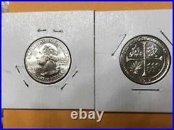 2019 W Quarter Complete Set Bu (5 Coin) Guam, Ronr, Lowell, Mariana, Sa Mission