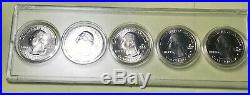 2019 W Quarters Full Complete Set Of All 5 Designs In Display Case. West Point