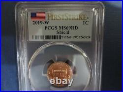 2019-w. Complete West Point Lincoln Cent Set Pcgs Ms69, Pr, Rp, (3) Coin Set