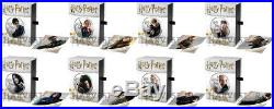 2020 HARRY POTTER SILVER COINS COMPLETE 8-COIN SET WithOGP AND SILVER COA