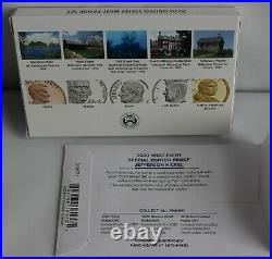 2020 S US Mint ANNUAL 11 Coin Proof Set Original Box COA Complete with W Nickel