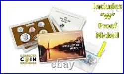 2020 US Mint Proof Set Complete With COA and Bonus W Nickel Sealed11 Coin Set