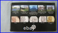 2020 U. S. MINT 11 COIN SILVER PROOF SET with W REVERSE PROOF NICKEL COMPLETE