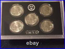 2020 W Quarters 5 Coin Complete Set. Rare, Low Mintage Coins