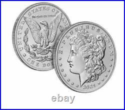 2021 Morgan Silver Dollar Complete Set of 6 Morgan CC, O, D, S, P and Peace P